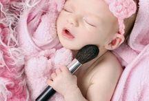 New born girl photoshoot