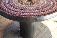 Tavoli a mosaico