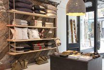 Winkelstyling | shops / Interieurinspiratie voor de inrichting & styling van winkels. Op zoek naar meer interieurinspiratie? Neem een kijkje op www.vialin.nl / by Via Lin