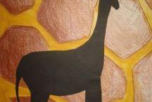 Zwierzęta - prace  plastyczne