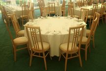Marquee Furniture and Equipment / There is no need to source furniture, lighting, heating, generators or toilets from other suppliers – we can do the whole package. Let us take the stress out of chasing quotations, follow up calls and visits. This can all be incorporated in your itemised quotation suited to your budget!
