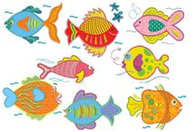Fish applique