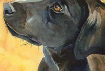 dogs / art pics dogs