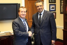 Dr. Tedros meets members of the House Foreign Relations Committee / Dr. Tedros meets members of the House Foreign Relations Committee in Washington D.C