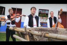 kroje - folklór Morava a Čechy, Slovensko