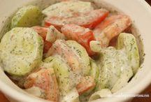 German cucumber salad / Salad