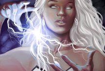 Storm / Ororo Munroe AKA Strom, your leading weather girl