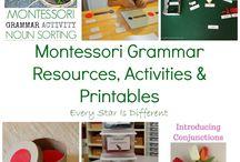 Language Arts Printables
