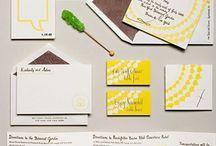 wedding: invites/programs / by Taylor (Towne) Kellogg