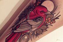 Tatuaże Z Ptakami