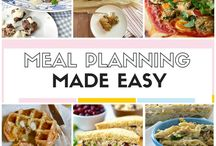 #MenuMonday / Menu planning is a great way to make sure you're eating a balanced diet and meeting your nutritional needs. And, as every frugal cook knows, menu planning can save you time and money.
