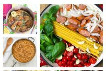 ONE POT MEALS / by Pat M