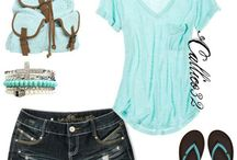 summer womens outfit