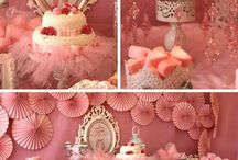 Ballet Party / Ideas para decoraciones de Ballet