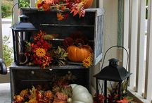 FALL PORCH DECORATING IDEAS GALLERY