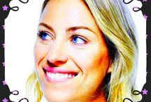 Angelique Kerber Tenniskönigin.