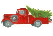 Christmas Trucks Etc