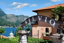 Ristorante Silvio / Terrazza ristorante - specialità pesce. Terrace with lake view - fresh fish.