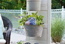 Garden / Clever garden ideas