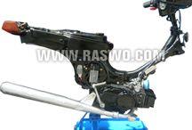 Trainer Sepeda Motor Suzuki Bravo RC-100 / Trainer Sepeda Motor Suzuki Bravo RC-100