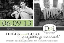 Wedding, Bridal Shower & Save the Dates