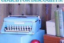 Educator Discounts