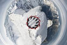 Swiss Alps & Climbers / In honor of the 150th anniversary, Swiss mountaineering producer Mammut Sports teamed up with the brilliant photographer Robert Böesch in order to capture the epic beauty and magical moments happening between the climbers and the mountain in the Swiss Alps ..