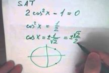 Решение задачи C1: уравнение и указать корни