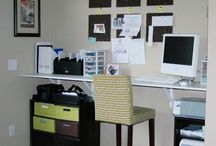Stand Up Desk Ideas / Stand up desks and ideas for office configurations.