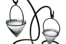 Candle Holders and Beads