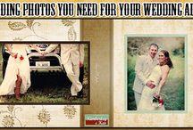 Wedding Photos You Need for Your Wedding Album / Not sure which wedding photos to get? Make sure you get these ones for your wedding album first! http://www.kimberleyandkev.com/wedding-photos-need-wedding-album/