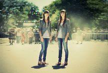 Twins / Omdat ik er zelf 1 van 2 ben.