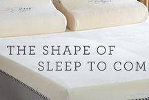 Get Great Night's Sleep with Nature's Sleep / Sleeping well on memory foam gel matresses.