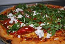 Pizza,pai og innbakte brød