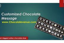customized chocolate message