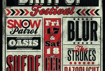 Typography Music Poster