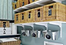 Laundry room love / by Shannon Baker