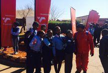 #TransnetNelsonMandelaDayVolunteers - Vooslorus / On 17 July 2015, the Transnet team in the Gauteng region volunteered their efforts to fix the Vooslorus Comprehensive Secondary School.