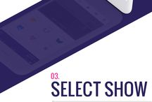 Henixweb Mobile App Designs