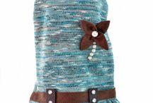 Ropa para Mascotas Otoño Invierno / Vestidos, chamarra y mas para nuestras perritas.  Encuentra una variedad de diseños exclusivos con lindos detalles
