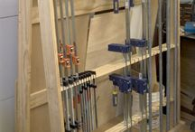 Clamps and storage clamps
