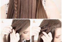 trenzas en cabello