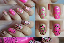 Fingernails(Animal Prints) / by LeAnn Stever