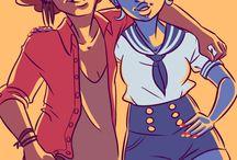 Ruby & Safire