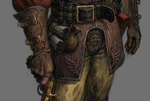 Warhammer fantasy illustrations