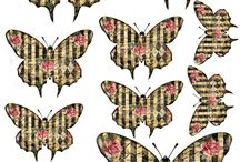 printable butterflies / printable butterflies