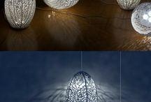 Lasercut lampe