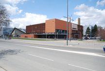Bibliothèque Marie Curie / Découvrez le bâtiment de la bibliothèque Marie Curie sur le Campus de la Doua