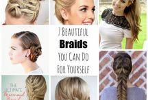 Astuces coiffure, beauté, etc ...