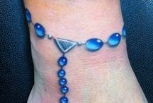 anklet tattoo inspo